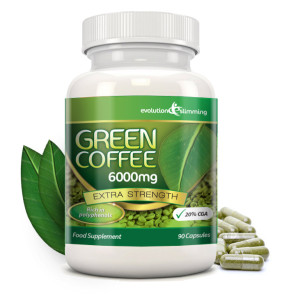 Green Coffee 6000mg Evolution Slimming