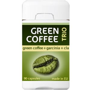 green coffee trio